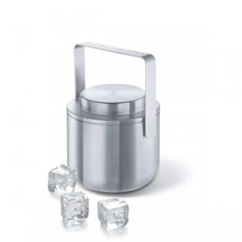 Zack Contas Brushed Stainless Steel Thermal Ice Bucket 20122