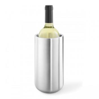 Zack Contas Brushed Stainless Steel Thermo Wine Cooler 20125