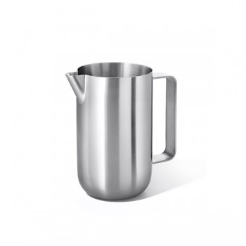 Zack Contas Brushed Stainless Steel Milk Jug 20152