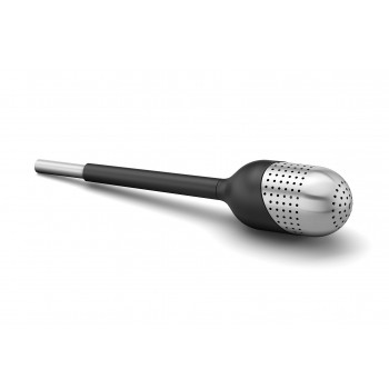 Zack Tamio Brushed Stainless Steel Tea Ball Stick 20168