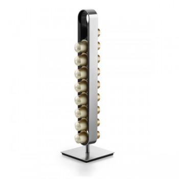 Zack Curo Brushed Stainless Steel Nespresso Capsule Holder 20213
