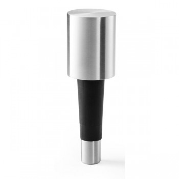 Zack Vinare Brushed Stainless Steel Champagne Stopper 20287