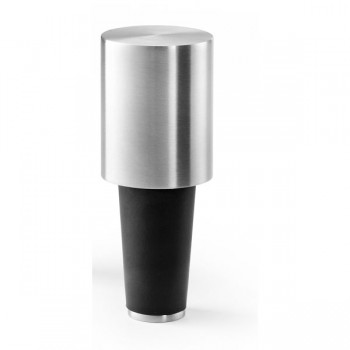 Zack Vinare Brushed Stainless Steel Wine Stopper 20288