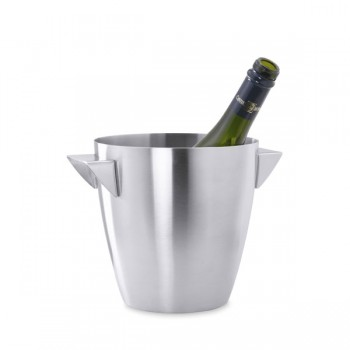 Zack Cius Brushed Stainless Steel Champagne Bucket 20457