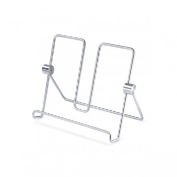 Zack Alessa Brushed Stainless Steel Cookbook Stand 20647