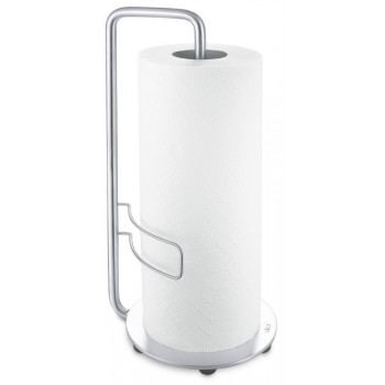 Zack Adeo Brushed Stainless Steel Kitchen Roll Holder 20702