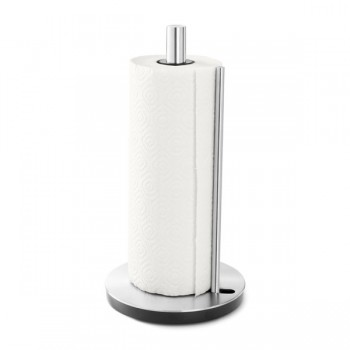 Zack Lingo Brushed Stainless Steel Kitchen Roll Holder 20707