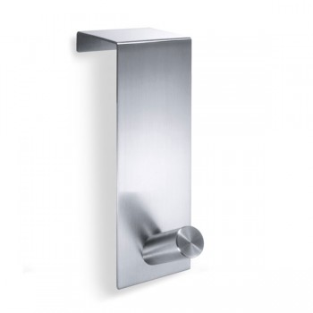 Zack Exit Brushed Stainless Steel Single Standard Door Hook 20724