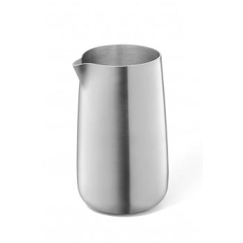 Zack Bevo Brushed Stainless Steel Cream Jug 20866