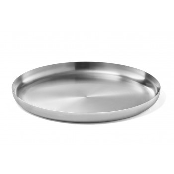 Zack Bevo Brushed Stainless Steel Tray 20869
