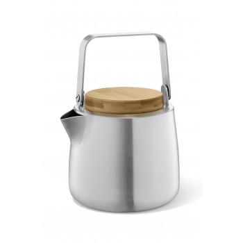Zack Bevo Brushed Stainless Steel Tea Pot 20870