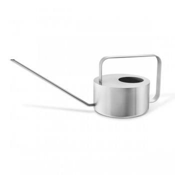 Zack Cala Brushed Stainless Steel 15cm Watering Can 22183