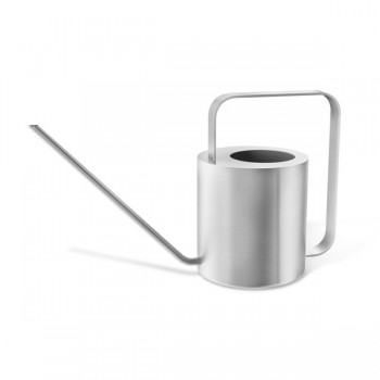 Zack Cala Brushed Stainless Steel 18cm Watering Can 22184
