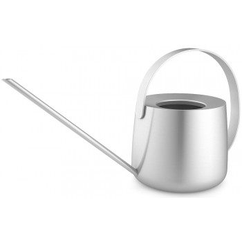 Zack Flowas Brushed Stainless Steel Watering Can 22189