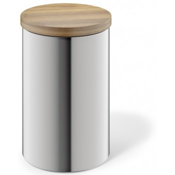Zack Cera Brushed Stainless Steel 1.0ltr Storage Canister 24003