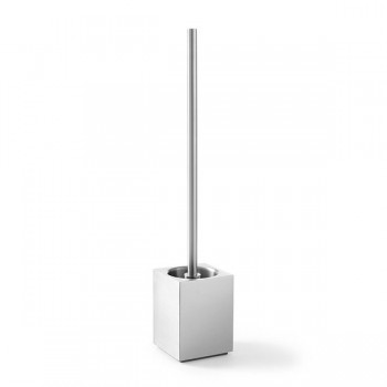 Xero Cube Toilet Brush Set 40015 - Brushed Finish