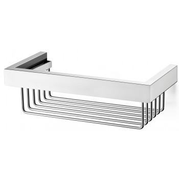 Zack Linea Polished/High Gloss Stainless Steel Shower Basket 40023