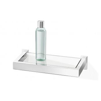Zack Linea Polished Stainless Steel 26.5cm Bathroom Shelf 40028