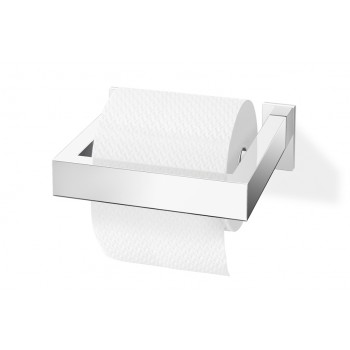 Zack Linea Polished Stainless Steel Toilet Roll Holder 40031