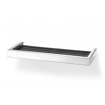 Zack Linea Polished Stainless Steel 35.2cm Shower Shelf 40044