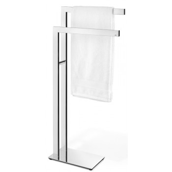 Zack Linea Polished Stainless Steel Towel Stand 40046