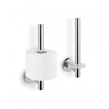 Zack Scala Polished Stainless Steel Spare Toilet Roll Holder 40053