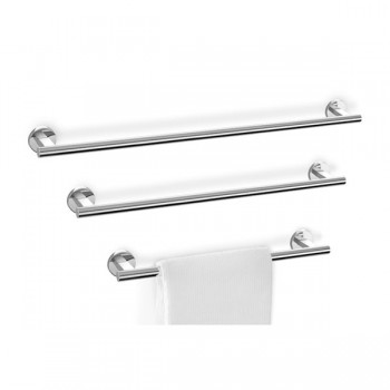 Zack Scala Polished Stainless Steel 75cm Towel Rail 40058