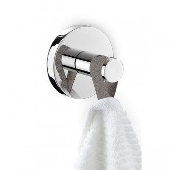 Zack Scala Polished Stainless Steel Towel Hook 40062