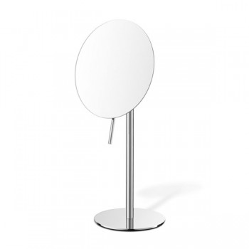 Zack Avio Polished Stainless Steel Cosmetic Mirror 40075