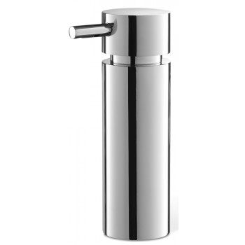Zack Tico Polished Stainless Steel 16.5cm Soap Dispenser 40076