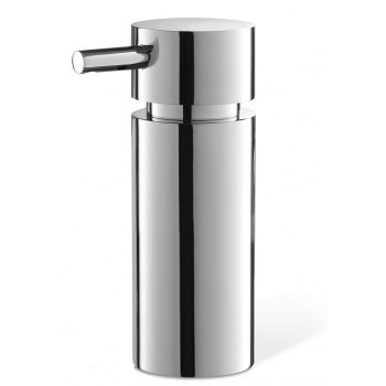 Zack Tico Polished Stainless Steel 12.5cm Soap Dispenser 40078