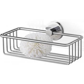 Zack Scala Polished Stainless Steel 23.5cm Shower Basket 40084