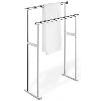 Zack Scala Polished Stainless Steel Towel Stand 40087