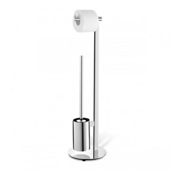 Zack Scala Polished Stainless Steel Toilet Butler 40088