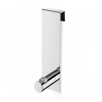 Zack Batos Polished Stainless Steel Shower Door Towel Hook 40089