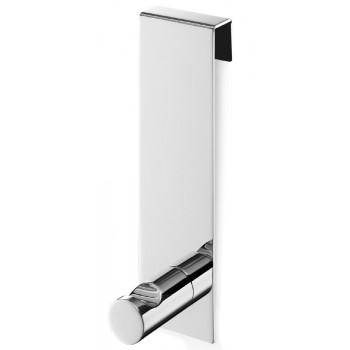 Zack Batos Polished Stainless Steel Shower Door Towel Hook 40089