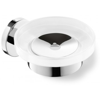 Zack Scala Polished Stainless Steel Wall Soap Dish 40097