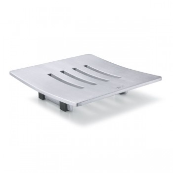 Zack Abbaco Brushed Stainless Steel Soap Dish 40101