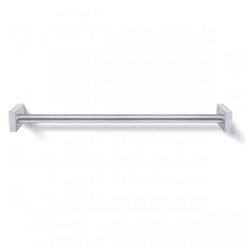 Zack Fresco Brushed Stainless Steel 63cm Towel Rail 40194
