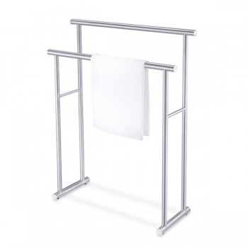 Zack Finio Brushed Stainless Steel Towel Rack 40245