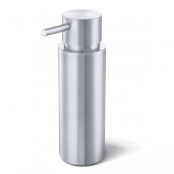 Zack Manola Brushed Stainless Steel Soap Dispenser 40308