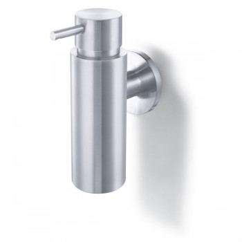 Zack Manola Brushed Stainless Steel Wall Soap Dispenser 40309