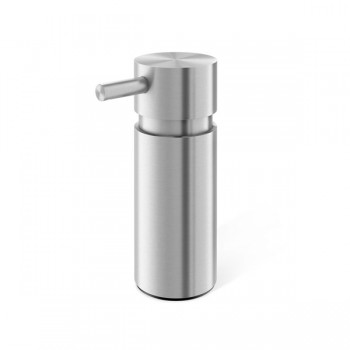 Zack Manola Brushed Stainless Steel 13cm Soap Dispenser 40310