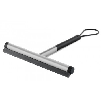 Zack Jaz Brushed Stainless Steel Short Handle Squeegee 40326