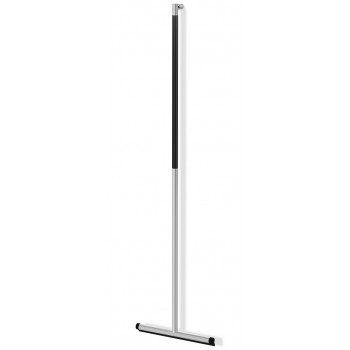 Zack Jaz Brushed Stainless Steel Floor Squeegee 40328