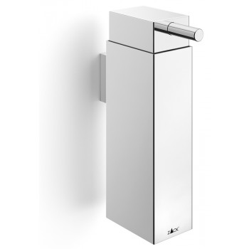 Zack Linea Polished Stainless Steel 16.7cm Wall Soap Dispenser 40337