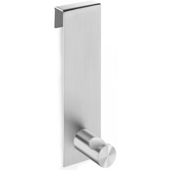 Zack Batos Brushed Stainless Steel Shower Door Towel Hook 40347
