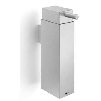 Zack Linea Brushed Stainless Steel Wall Soap Dispenser 40368