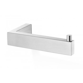 Zack Linea Brushed Stainless Steel Toilet Roll Holder 40374