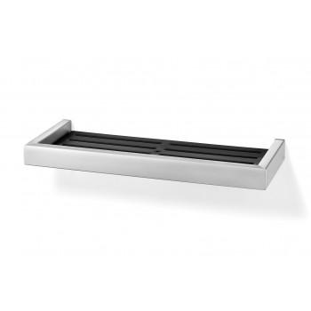 Zack Linea Brushed Stainless Steel 35.2cm Shower Shelf 40375